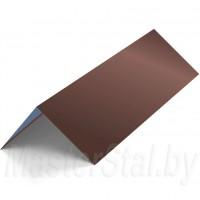 Конек кровельный цветной 145х145 мм
