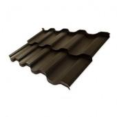 Металлочерепица NORDO Arcelor Mittal DEEP МАТ (Europe) 0,5 мм, листовая