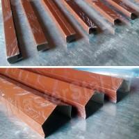 Заборные планки металлические