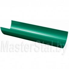 Желоб водосточный, зеленый (ПВХ), 3 м