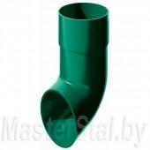 Слив трубы, зеленый (ПВХ)