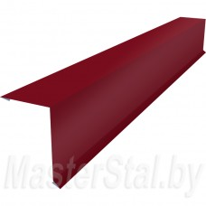 Торцевая (ветровая) планка цветная по вашим размерам