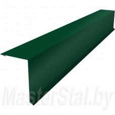 Торцевая (ветровая) планка цветная 100х120 мм
