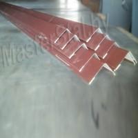 Уголки металлические цветные