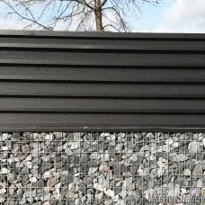 Забор жалюзи Стандарт-130, глянец