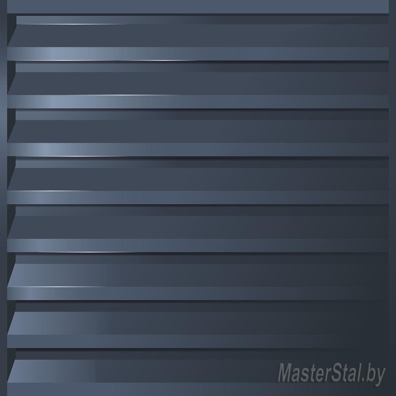 Забор жалюзи металлический Макси-180