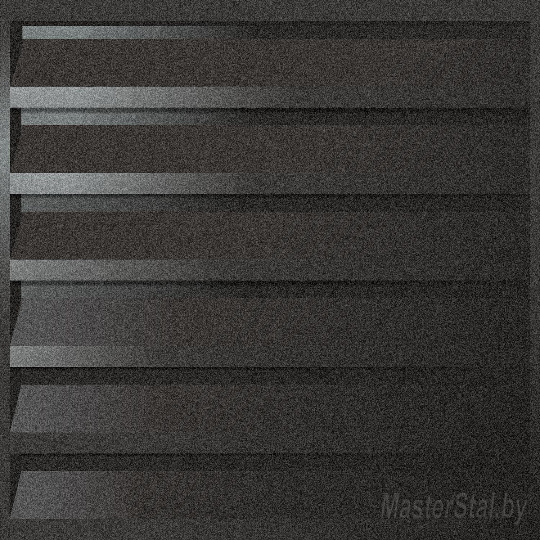 Забор жалюзи металлический матовый Макси-250 размеры