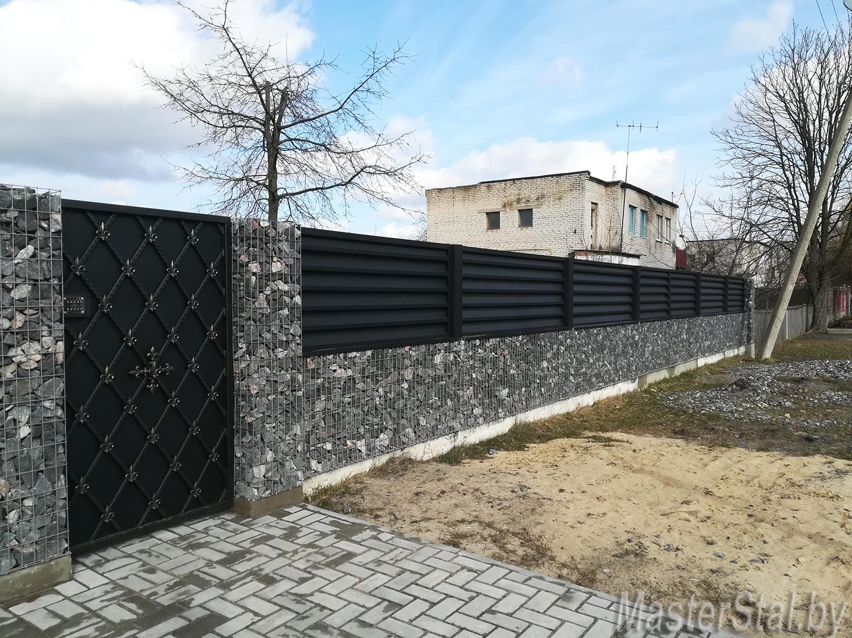 Забор жалюзи Стандарт-130
